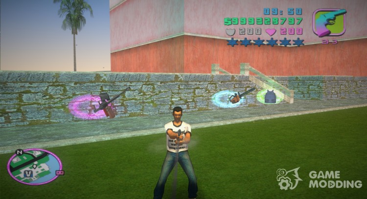 Beta Improved Animations and Gun Shooting for GTA Vice City