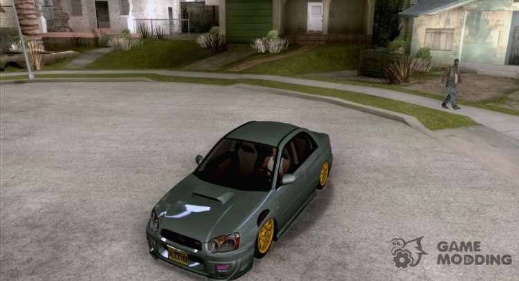 Subaru Impreza WRX STi Tunable for GTA San Andreas