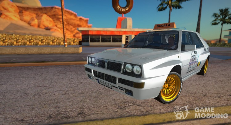 1989 Lancia Delta HF Integrale - School Driving for GTA San Andreas