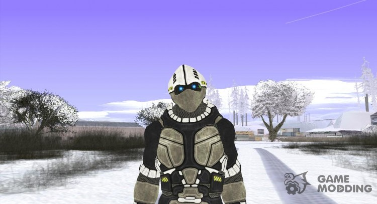 Cyber Skin Suit for GTA San Andreas