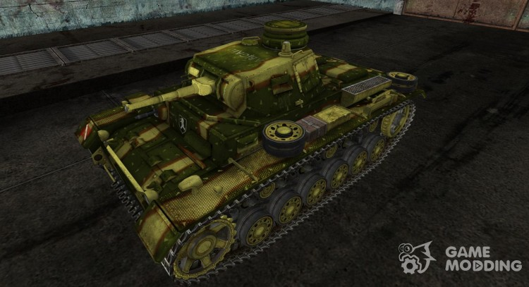 Panzer III 04 for World Of Tanks