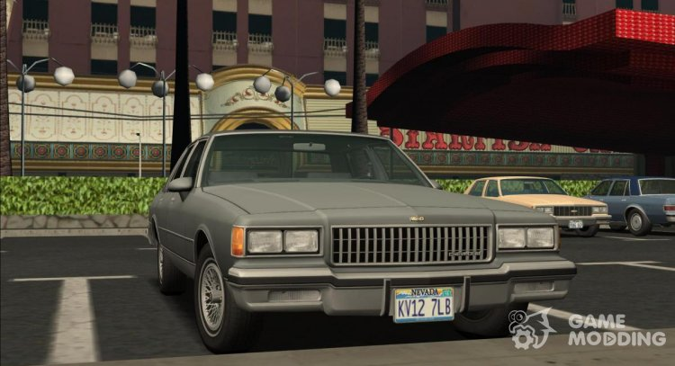 1986 Chevrolet Caprice Brougham 3.0 for GTA San Andreas