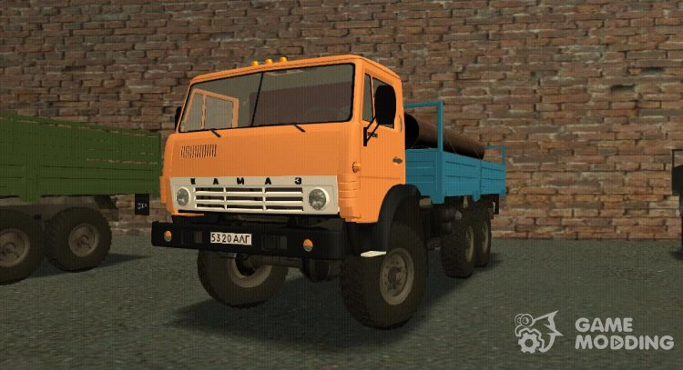 KamAZ-4310 Civil for GTA San Andreas