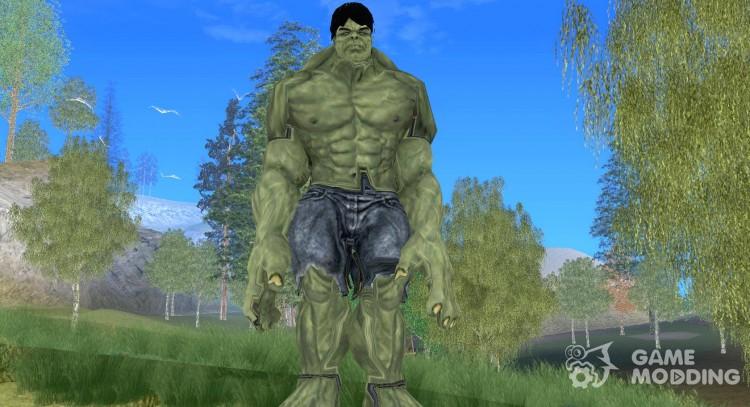 Hulk Skin for GTA San Andreas
