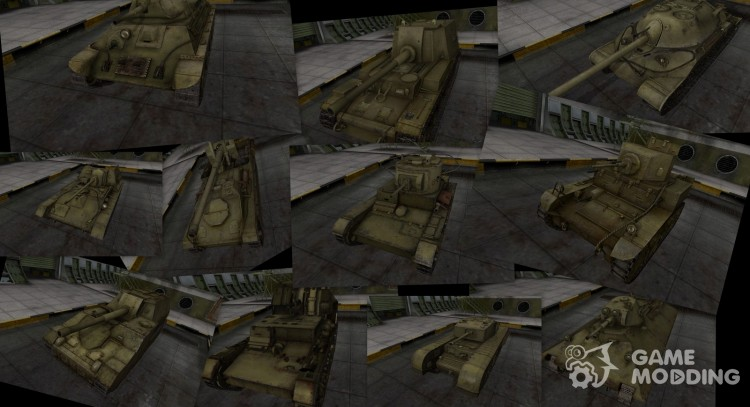 Pak tanks in livery 4BO for World Of Tanks