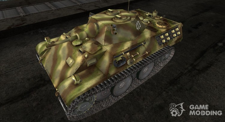 Skin for Leopard for World Of Tanks