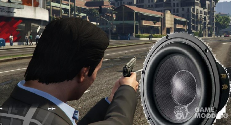 New sounds of shots (BETA) for GTA 5