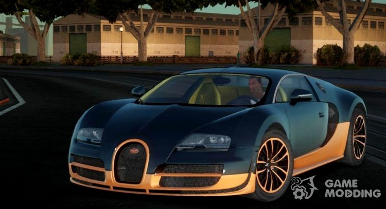 2010 Bugatti Veyron 16.4 Super Sport for GTA San Andreas