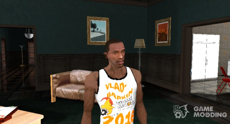 Christmas t-shirt for GTA San Andreas