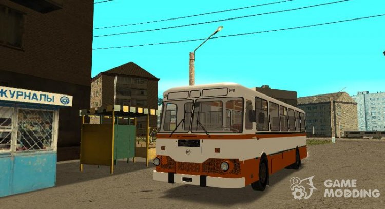 LiAZ-677 for GTA San Andreas