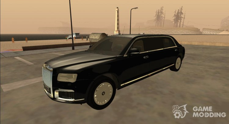 2018 Aurus Senat Limousine for GTA San Andreas