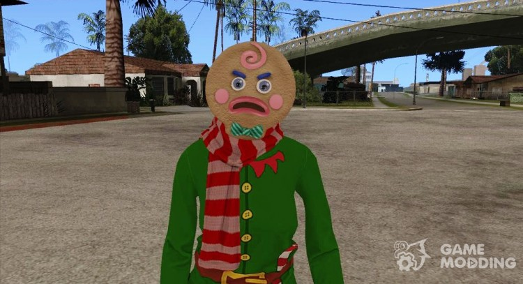 Female GTA Online (DLC Festive Surprise 2015) for GTA San Andreas