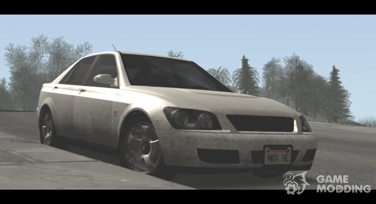 Original GTA IV Graphics Mod 5 0 (SA-MP) for GTA San Andreas