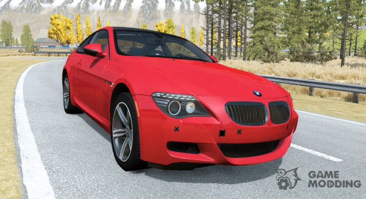 BMW M6 Coupe (E63) 2010 for BeamNG.Drive