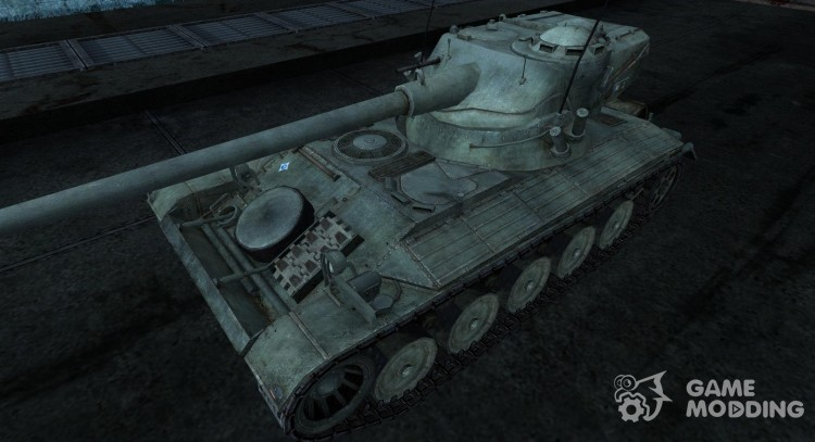 Skin for AMX 13 90 No. 17 for World Of Tanks