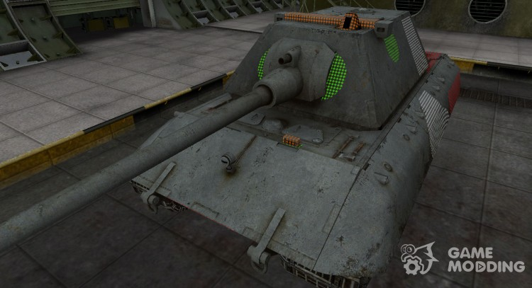 Area of the breakthrough E-100 for World Of Tanks