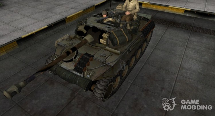 Remodeling for the M18 Hellcat for World Of Tanks