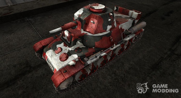 Skin for the Panzer 38H35 (f) for World Of Tanks