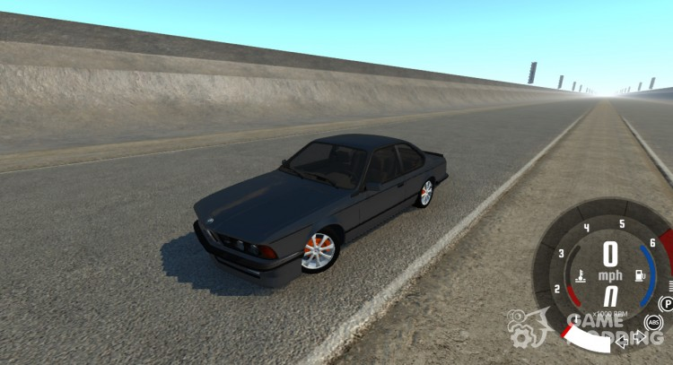 BMW M6-E24 for BeamNG.Drive