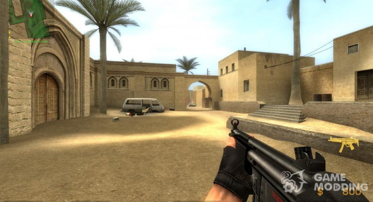 MP5A1 Sub-Machine Gun for Counter-Strike Source