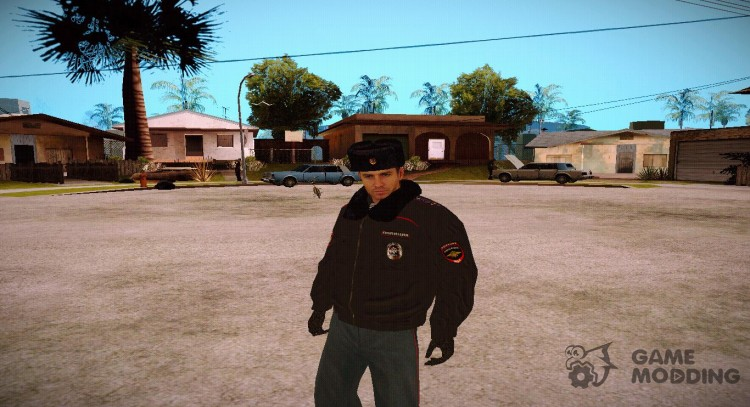 Police in the RUSSIAN winter form V4 for GTA San Andreas