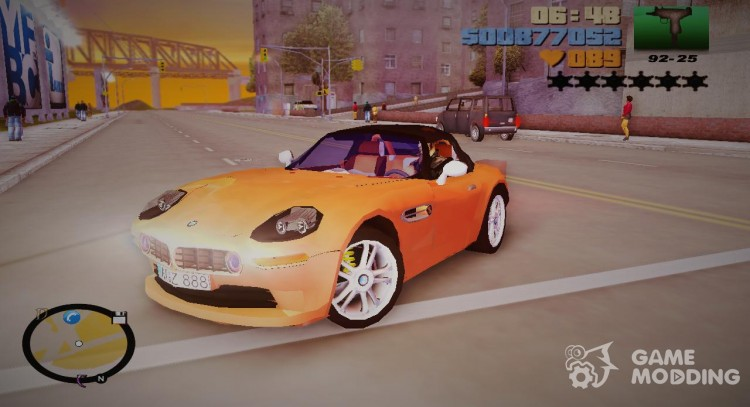 BMW Z8 for GTA 3