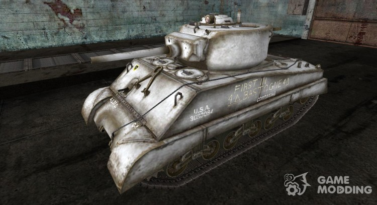 Skin for M4A3E2 for World Of Tanks