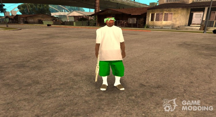 CJ is sweet'a for GTA San Andreas