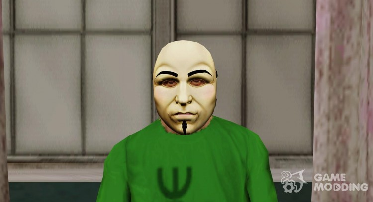 Theatrical mask v3 (GTA Online) for GTA San Andreas
