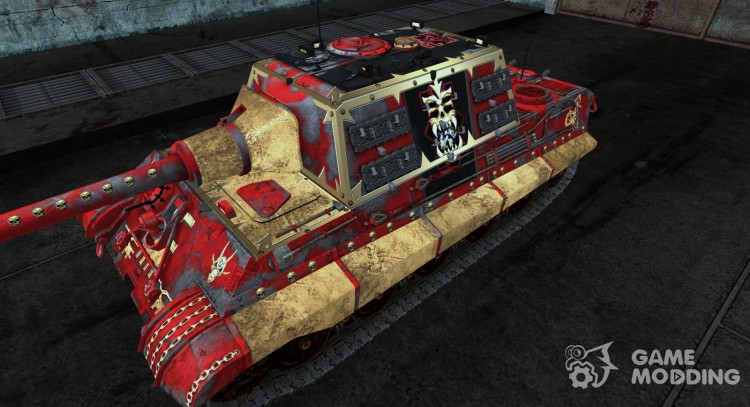 Skin for JagdTiger (Varhammer) for World Of Tanks