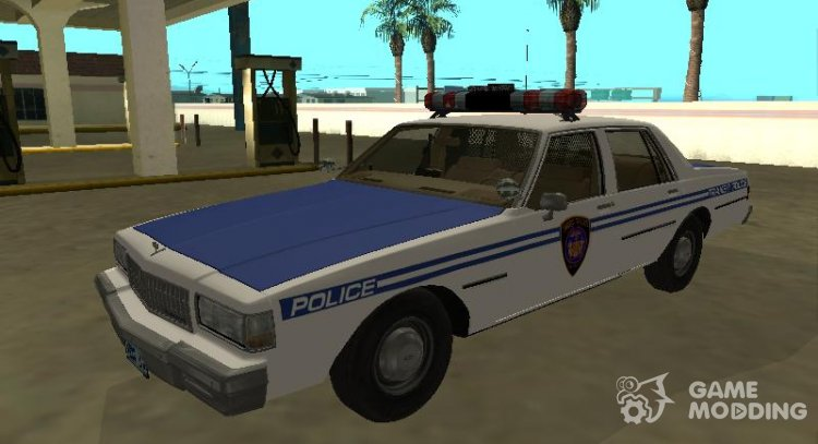 Chevrolet Caprice 1987 New York Transit Police for GTA San Andreas