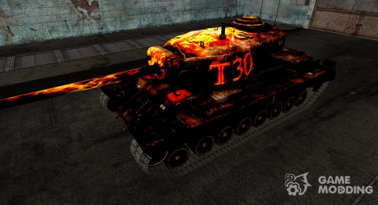 Skin for T30 No. 32 for World Of Tanks