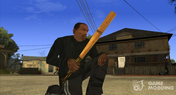 Baseball bat (Postapokalipsis) for GTA San Andreas