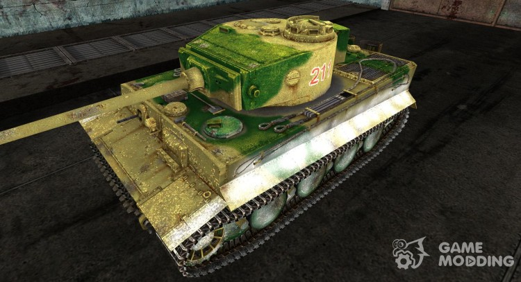 Skin for Tiger I for World Of Tanks