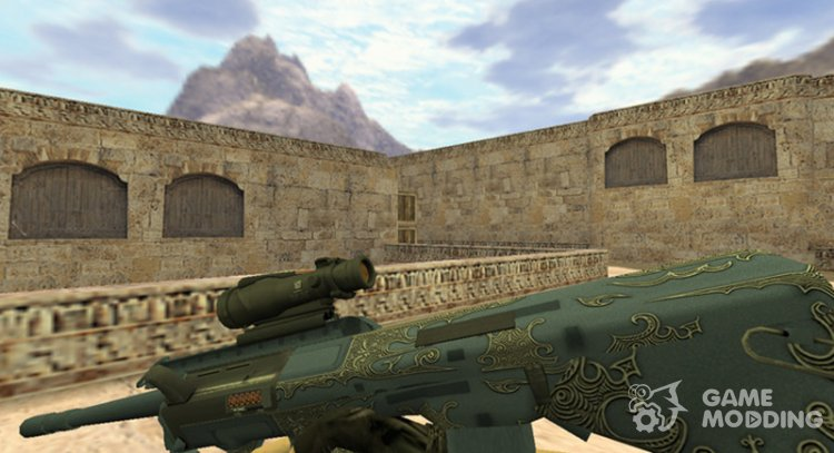 AUG Aristocrat for Counter Strike 1.6