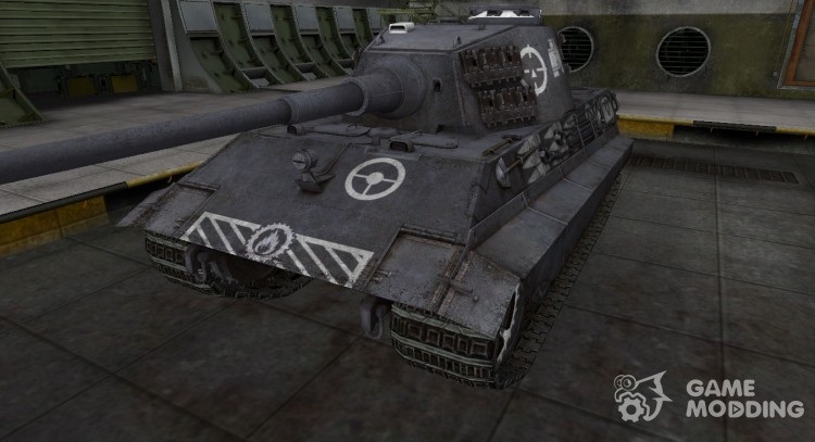 Breaking through the zone, compass E-75 for World Of Tanks