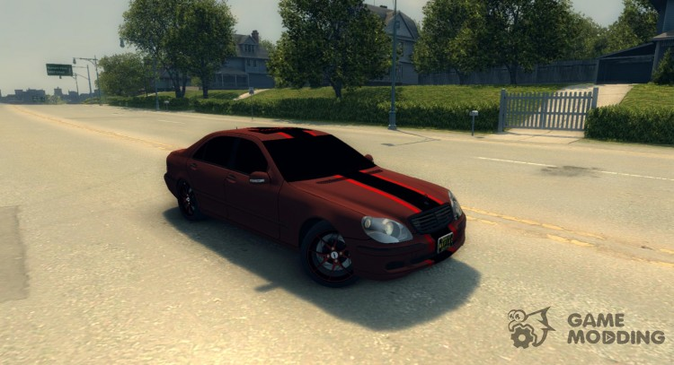 Mercedes-Benz S600 W220 (Revazov JoRick) for Mafia II