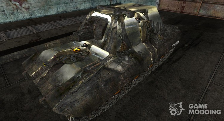 Skin 100 refills Stalker for World Of Tanks