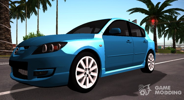 Mazda 3 MPS Tunable for GTA San Andreas
