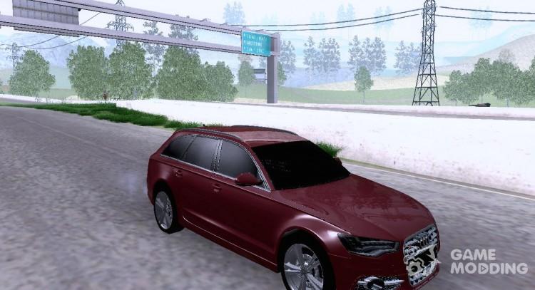 Audi A6 Avant For Gta San Andreas