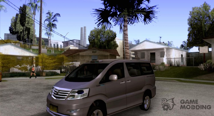 Toyota Alphard G-Premium Taxi indonesia for GTA San Andreas