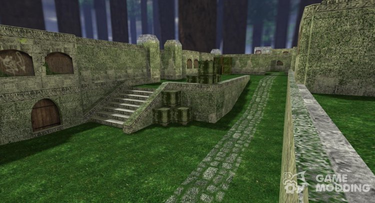 Dust jungle for Counter Strike 1.6