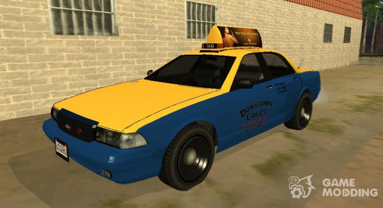 Taxi from GTA 5 for GTA San Andreas