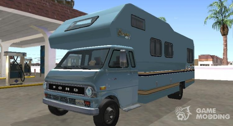 Ford Econoline E-200 1973 Motorhome for GTA San Andreas