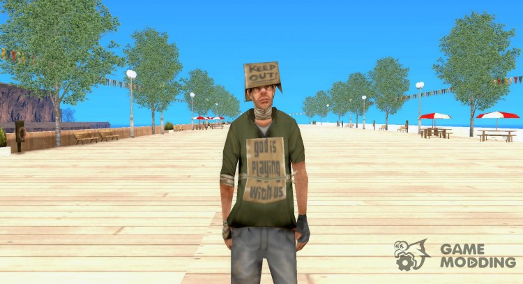 New Bomj for GTA San Andreas
