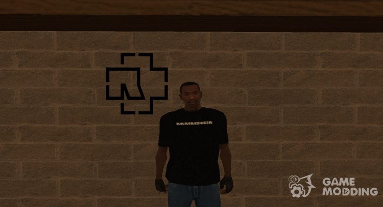 Rammstein T-shirt for GTA San Andreas