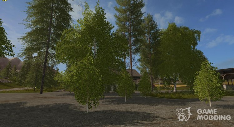 Trees for Farming Simulator 2017