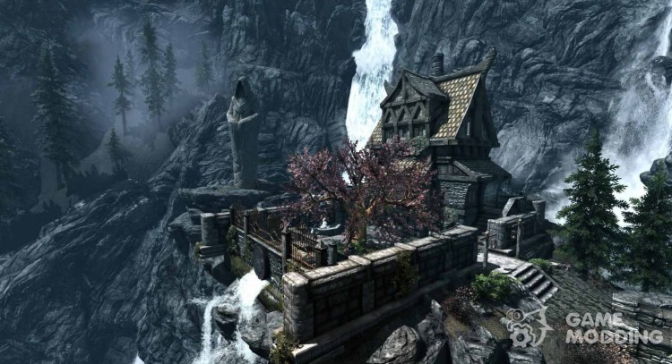 Dragon's mansion for TES V: Skyrim
