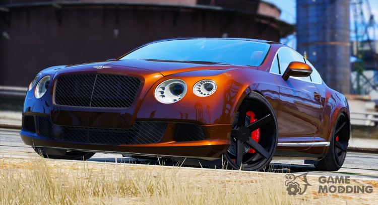 2012 Bentley Continental GT v1.1 for GTA 5