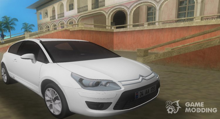 2010 Citroen C4 VTS for GTA Vice City